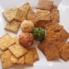 Homemade Wheat Thins (and variations)