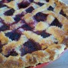 Marionberry Pie (and how to make a lattice crust)