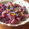 Roasted Beets with Orange