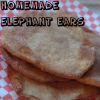 Homemade Elephant Ears