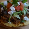 Sweet Pork Tostadas